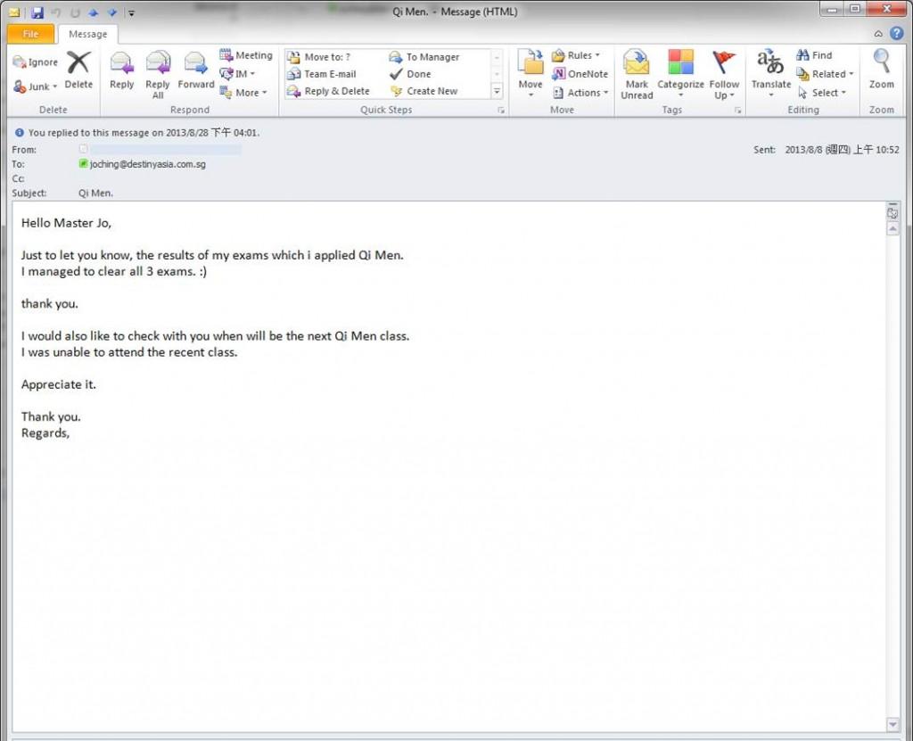 Succeed in eaxam case (feedback)